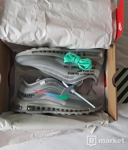 Nike Air Max 97 x Off White Menta US 9