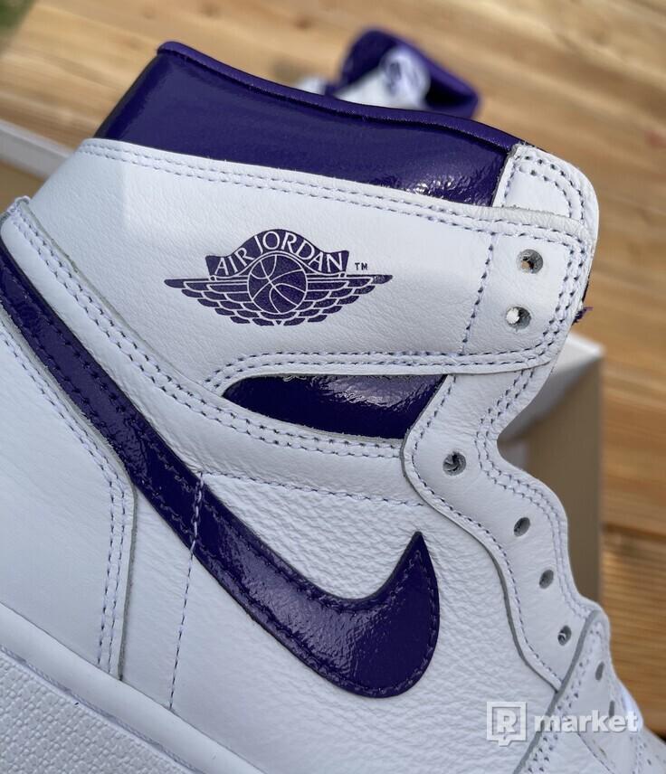 AJ1 Court purple (W)