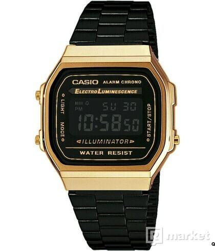 Casio A 168GB-1BEF zlaté / černé
