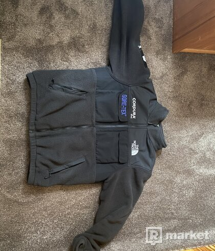 Supreme x tnf fleece