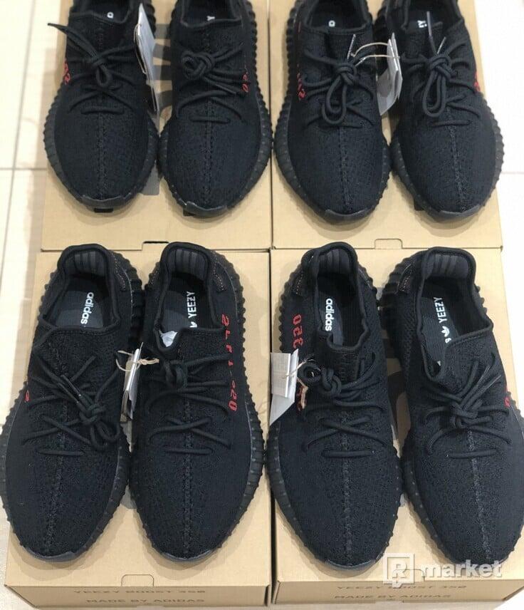 Adidas Yeezy Boost 350 V2 Black Red (Bred)
