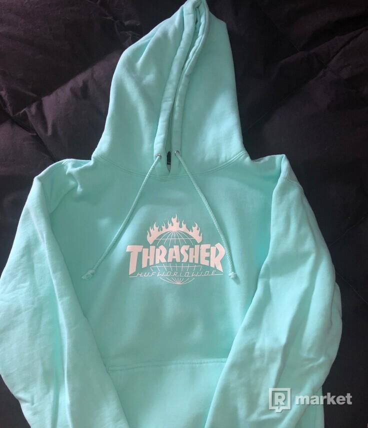 Thrasher  Huf Worldwide mikina