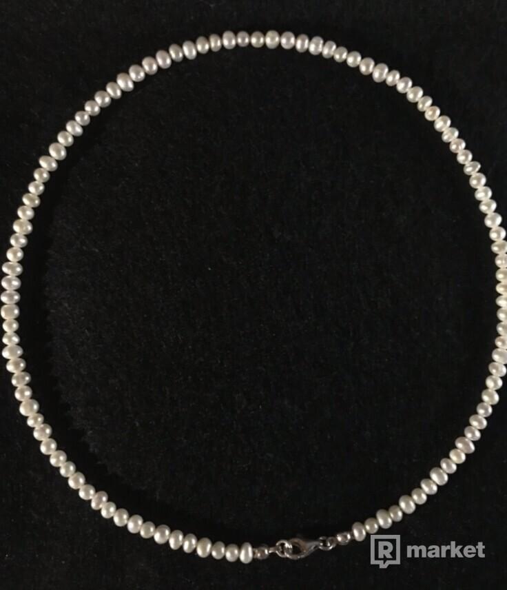 Necklace z riečnych perál