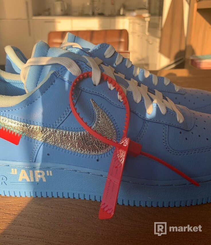 OFF-WHITE x NIKE Air Force 1 Low '07 'MCA'