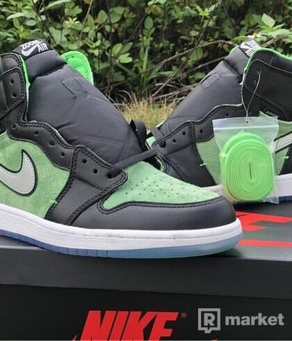 Air Jordan 1 Retro High Zoom Zen Green