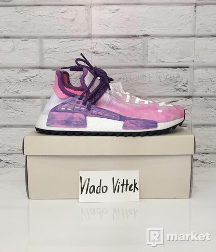 Adidas Human Race Pink Glow US 8,5