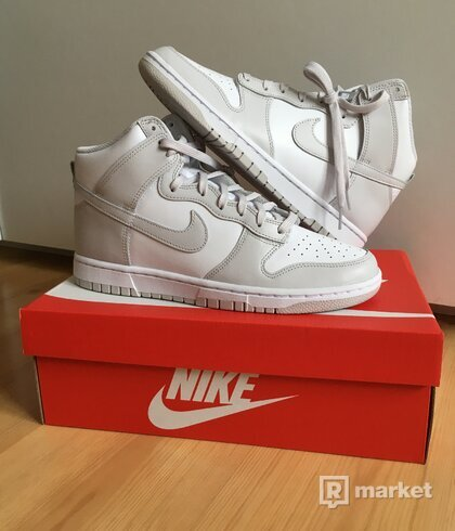 Nike Dunk High Vast Grey [43]