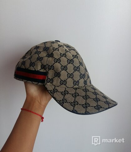 Gucci šiltovka (GG canvas baseball hat)