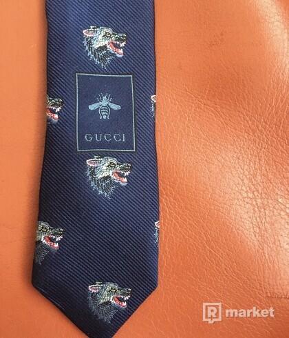 Gucci wolf head tie