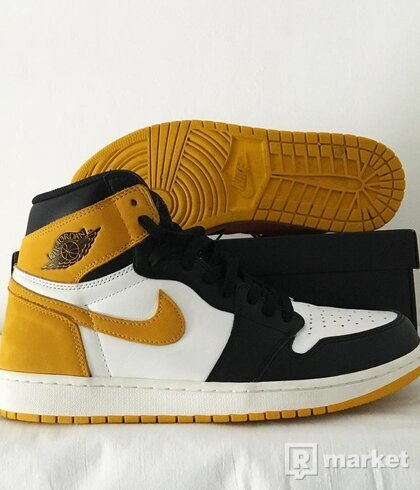 Air Jordan 1 Yellow Ochre