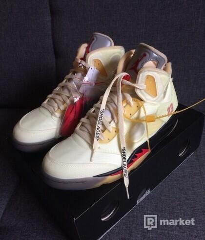 Air Jordan 5 Retro OFF-WHITE Sail (2020)