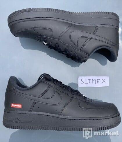 Nike Air Force 1 Low x Supreme Black