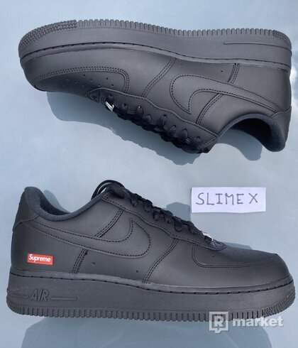 Nike Air Force 1 Low x Supreme Black