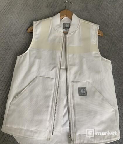 Carhartt x slam jam vest reflective