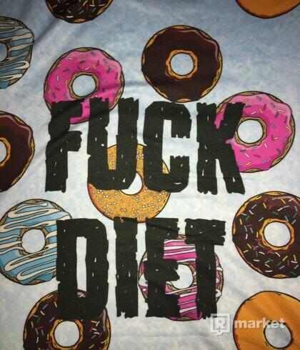 """BitterSweet Tričko """"Fuck Diet"""""""