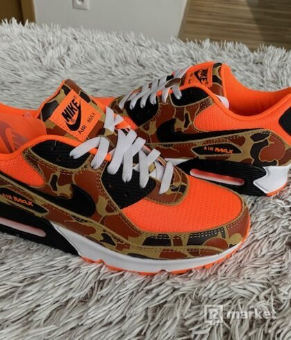 Nike air max 90 Duck Camo Orange