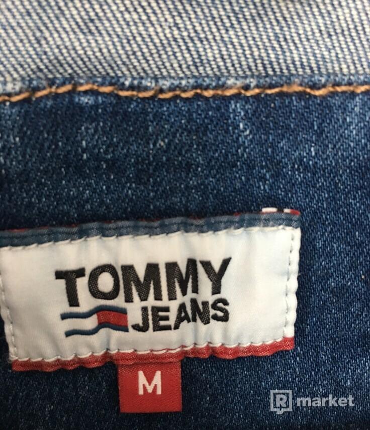 Džínová bunda Tommy Hilfiger