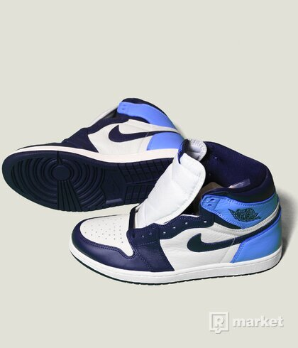 Air Jordan 1 Obsidian + GS