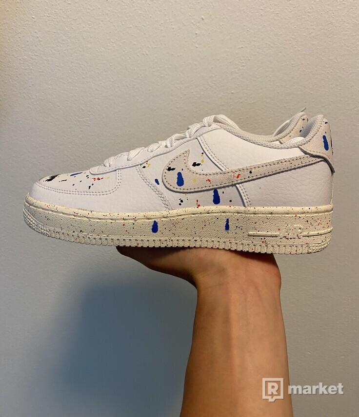 Nike Air Force Paint Splatter GS