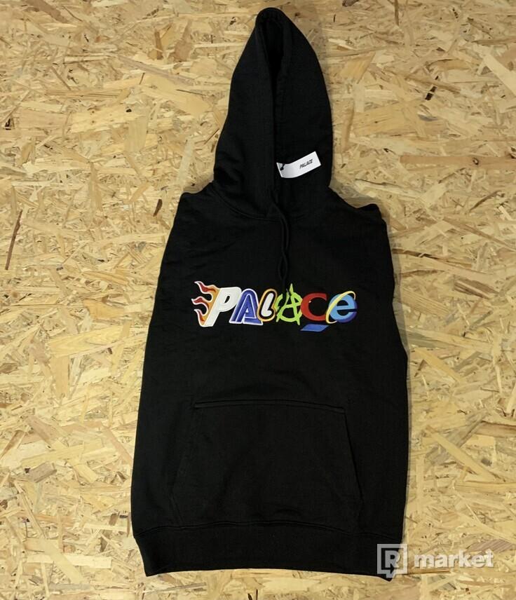 Predám mikinu Palace Multi Hood black