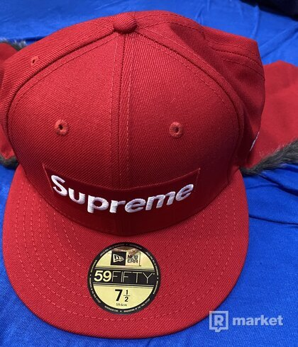 Supreme x New Era Earflap