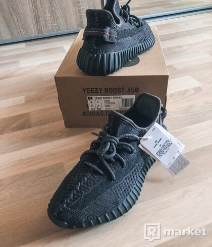 "Adidas YEEZY 350 ""black static"""