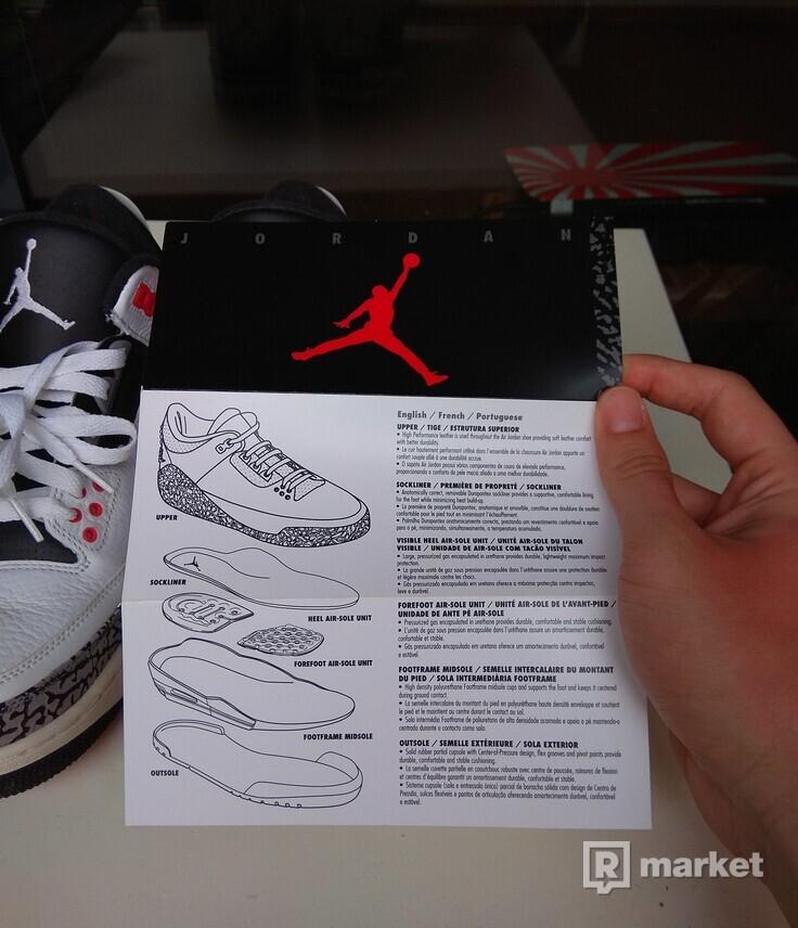Air Jordan 3 Infrared 2014 stav 9.5/10 s krabicou  znížená cena
