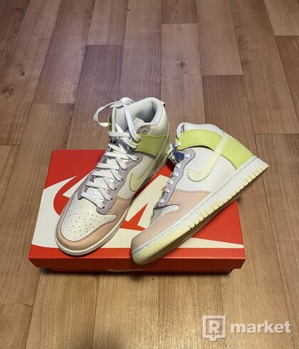 Nike Dunk High w lemon twist 38.5