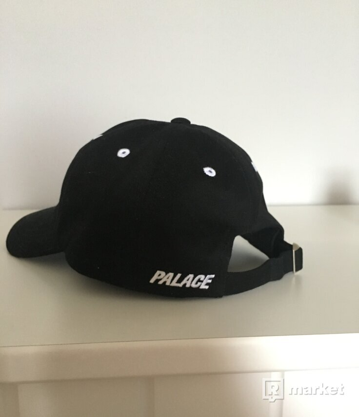 Palace 6-panel cap BLACK