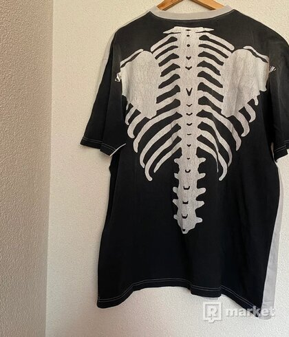 Kapital Kountry 2 Tone Big Bones Skeleton Tee