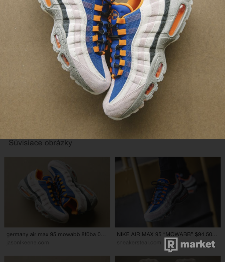 Nike air max 95 - 43ky / mowabb / king of the mountain