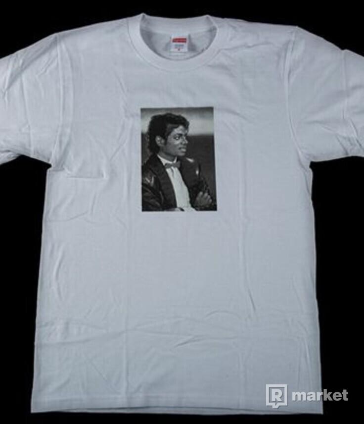 Kúpim Supreme MJ tee veľkosť L biele možno aj čierne, červené podľa ponuky