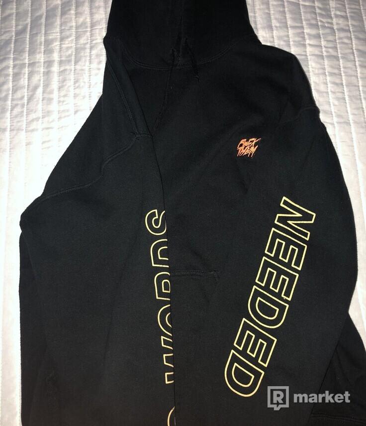 fck them no words needed hoodie