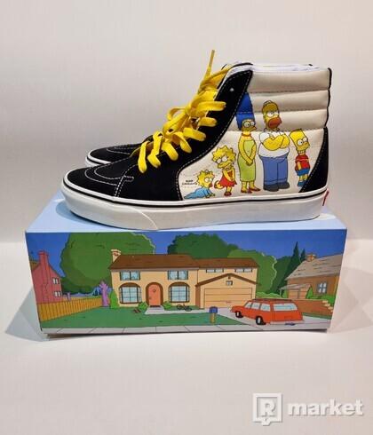 Vans SK8-HI Simpsons