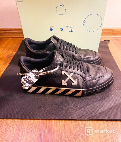Off-White low top sneakers
