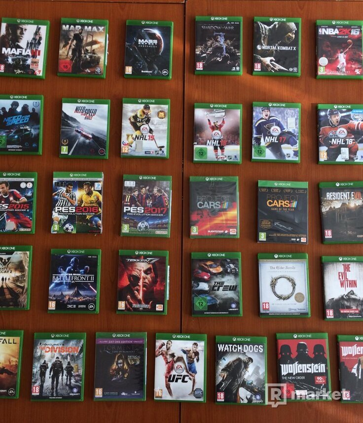 Konzole PS3, Xbox 360, Wii + Hry na PS2, PS3, PS4, PSP, X360, XONE