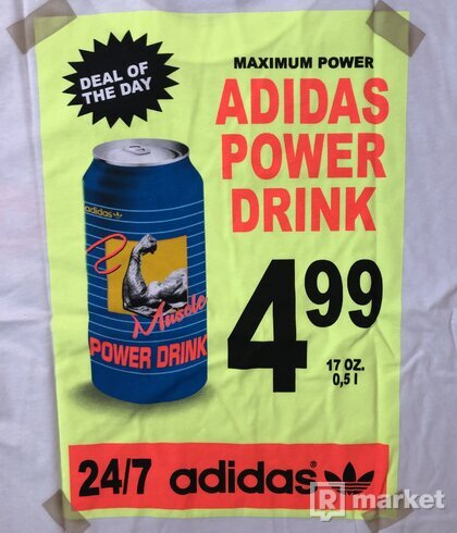 Adidas Originals panske tricko power drink