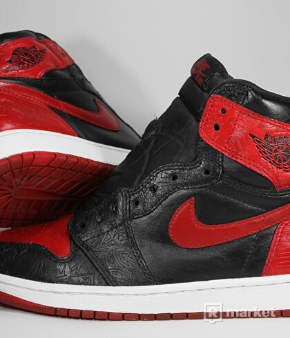 "Air Jordan Retro 1 High OG ""Laser-Bred Custom"""