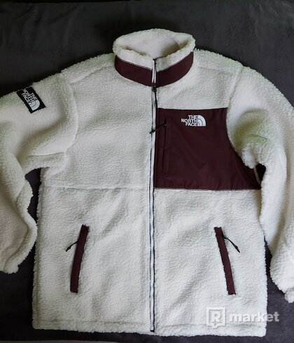 The North Face sherpa jacket