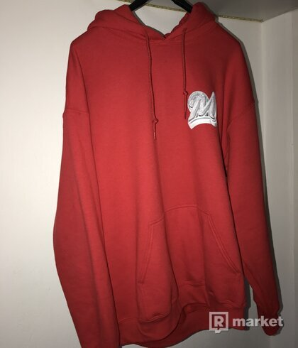 Marino infantry hoodie red