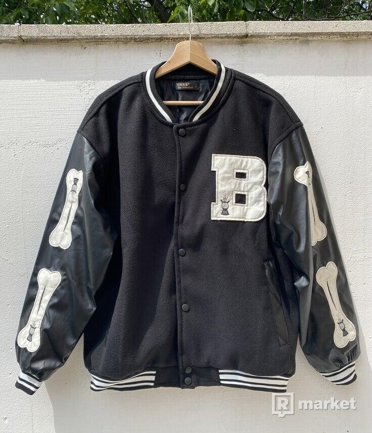 Bones varsity jacket baseball bunda
