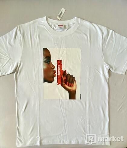 Supreme Water Pistol Tee White