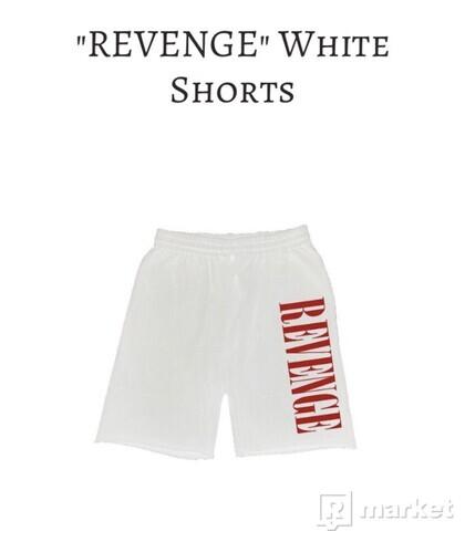 Revenge White Shorts