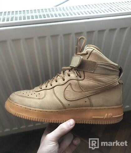 Nike Air Force 1 Hi Flax