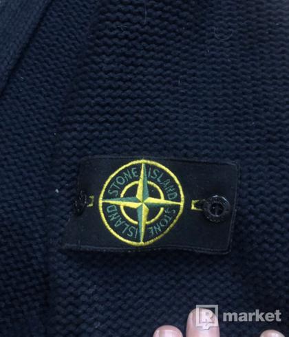 Stone Island štrikovaný sveter na zips