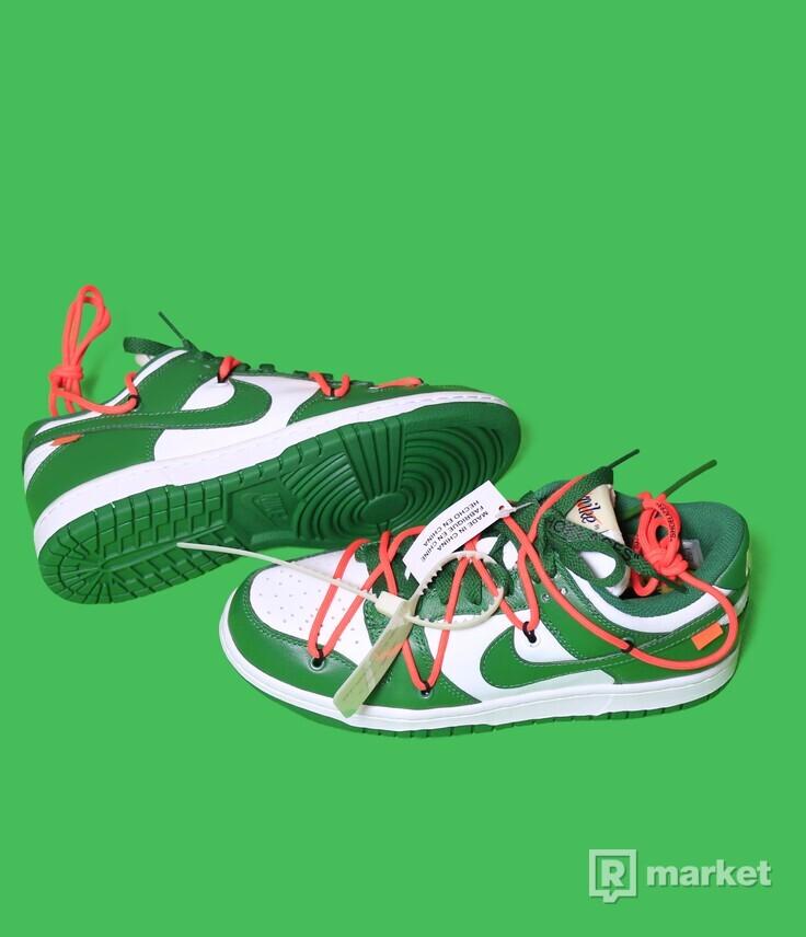 Nike x Off White Dunk Green