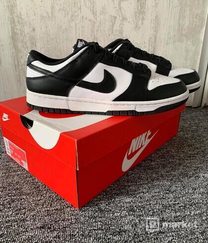 Nike Dunk Low Retro White Black (9,5)