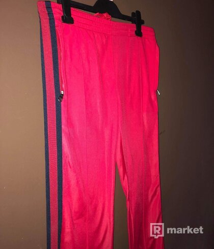 Gucci red side stripe track-jers  pants