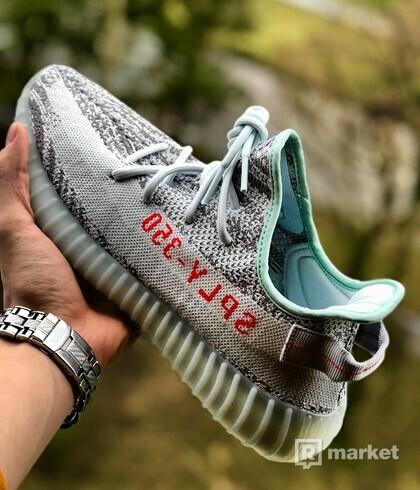 Adidas yeezy blue tint