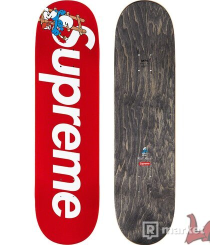 Supreme/Smurfs Skateboard